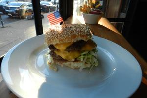 An Homage to McDonald's at Clara's Wins Best Neighborhood Burger