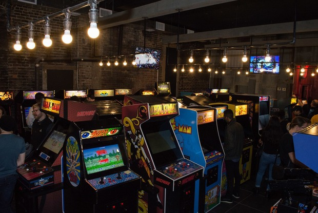 Bushwick Welcomes Tiltz, A New Classic Arcade Themed Sports Bar