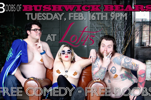 [NSFW] Get an Eyeful at This Raunchy, Topless Bushwick Comedy Night