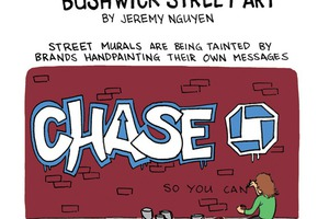 Advertising Hijacks Bushwick Street Art [Comic]