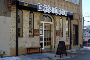 Express Yourself Barista Bar: Espresso and Activism Instead of Funeral Home