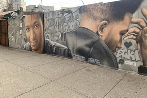 "Mural Celebrating the Life of YouTuber ""Etika"" Unveiled in Bushwick"