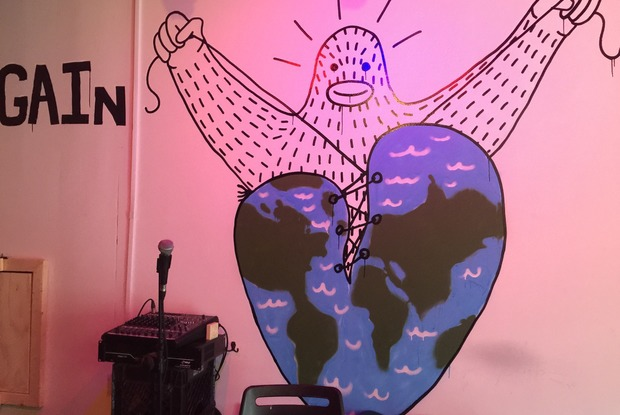 "Bushwick Native and Air Force Vet Opened ""Luv Story,"" a Sweet Bare-Bones Watering Hole"