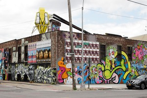 The Street Art of Bushwick Collective Is Disappearing Under Billboards