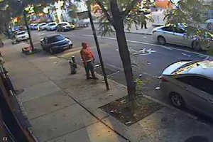 VIDEO: A Suspect Is Sought for a Deadly Shooting on Broadway in Bushwick