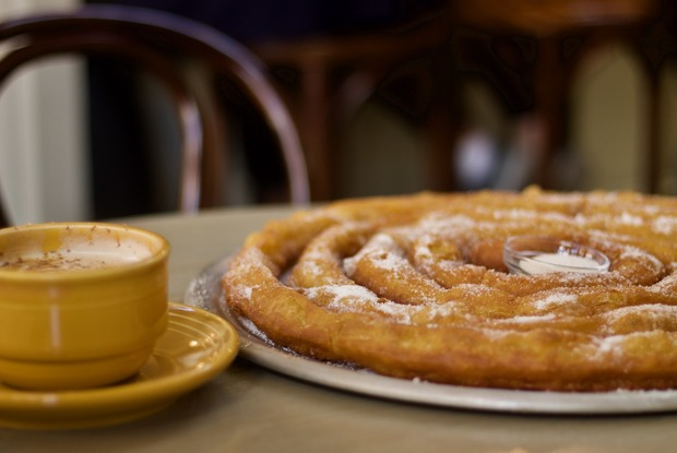Café Esencia: Six Feet of Churros For $8 And Other Spanish Pleasures in Ridgewood