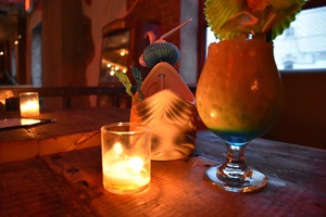 Eat Crickets and Drink Volcanoes Inside Glorious Bushwick Tiki Upgrade Dromedary Bar