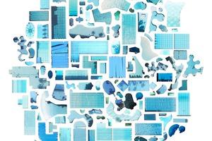 Turquoise Blue Dreaming: Pools Near Bushwick