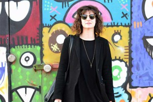 On Chilly Spring Days, Just a Hint of Color: Bushwick Street Style with Ruthie Darling