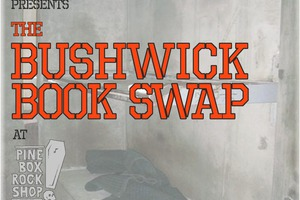Bushwick's first book swap benefit