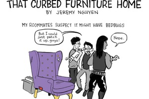 Reasons Why I Didn't Take That Curbed Furniture [COMIC]