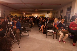 Jeremy Scahill Celebrated the Paperback Release of Dirty Wars at MayDay Space in Bushwick