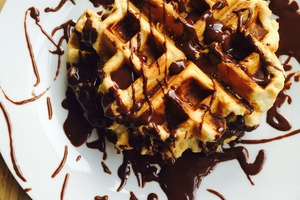 Second Round of Massive Waffle Indulgence Is Coming to Fine & Raw this Saturday
