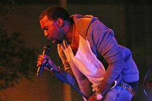 "Yeezy Teased an East Williamsburg ""Famous"" Screening Last Night"