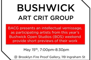 Bushwick Art Crit Group is Meeting Tonight