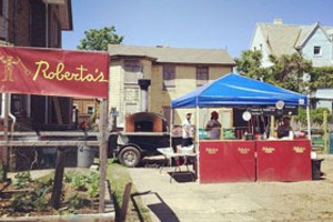 Roberta's Officially Opened a Pizza Stand in the Rockaways!