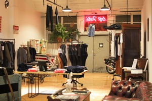 ...Because a Good Man Needs Good Clothes... Visiting Left Field in Ridgewood