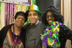 PHOTOESSAY: A New Orleans-Themed Evening to Remember at the Roundtable Senior Center