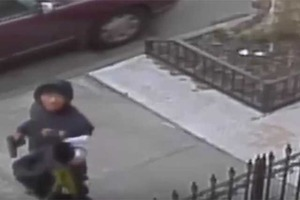 Police Seek Armed Robber Caught on Surveillance Video in Bushwick Saturday