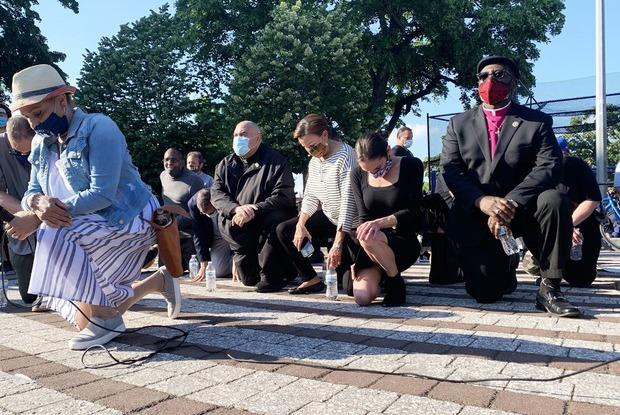 Bushwick Appreciates Black Lives Matter in Maria Hernandez Park