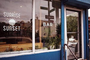 Sunrise/Sunset: On a Quiet Corner on Evergreen, a Wine Bar and Brunch Spot Begins to Blossom