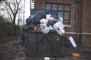 City Removed Over 60 Garbage Bins In Ridgewood To Clean Up Streets
