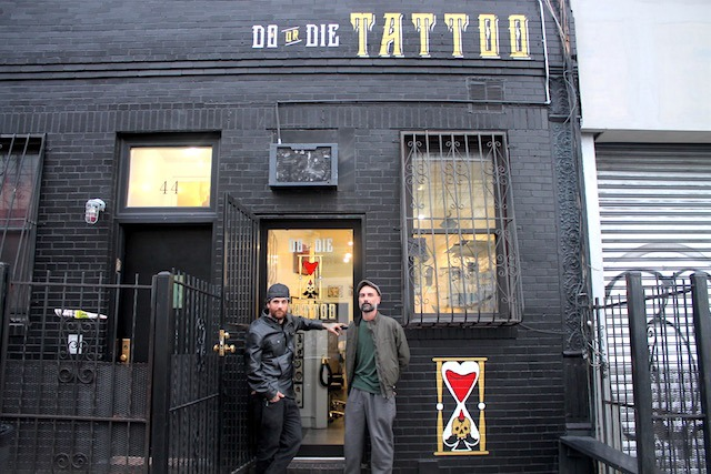 Inside do or die tattoo the newest business at wyckoff for Tattoo nightmares shop website