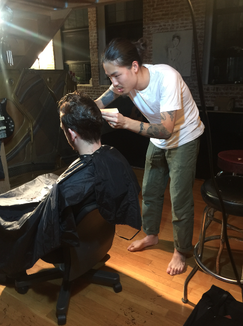 This Japanese Hair Stylist Gives Extraordinary Haircuts In His